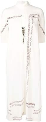 Victoria Beckham sequin belt dress