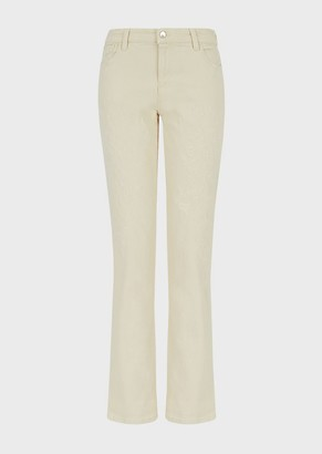 Emporio Armani J15 Relaxed-Fit, Vintage-Look Denim Jeans