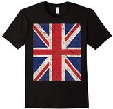 Vintage Union Jack UK British Flag T-Shirt