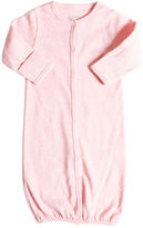Giggle Organic Cotton Convertible Baby Gown - Heathered
