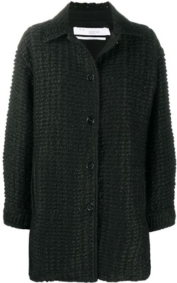 IRO Woven Textured Short Coat