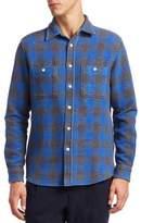 Kent & Curwen Mollison Check Button-Down Shirt