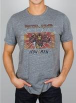 Junk Food Clothing Iron Man Tee-steel-s