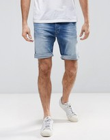 Replay Denim Short 901 Taper Fit Mid Wash