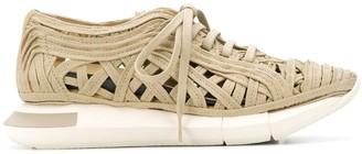 Manuel Barceló Lace-Cage Sneakers