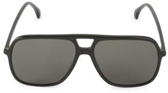 Gucci 58MM Aviator Sunglasses