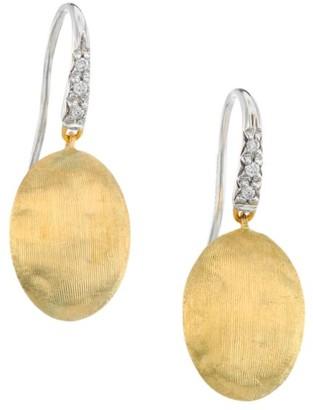 Marco Bicego Siviglia 18K Yellow Gold & Diamond Drop Earrings