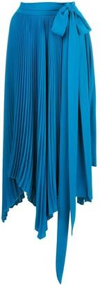 AMUR Delia pleated skirt