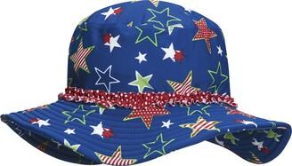 Playshoes Girl's UV-Schutz Sonnenhut Sterne Hat