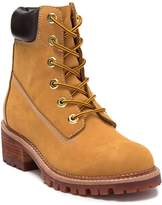 Jeffrey Campbell Construct Lace-Up Suede Boot