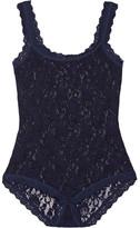 Hanky Panky Signature Stretch-lace Bodysuit - Navy