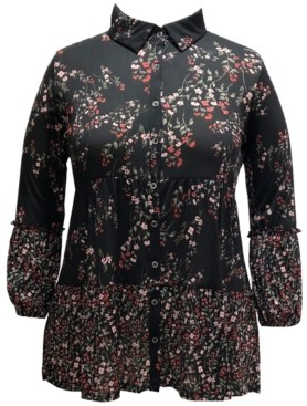 Style&Co. Style & Co Floral-Print Tunic, Created for Macy's