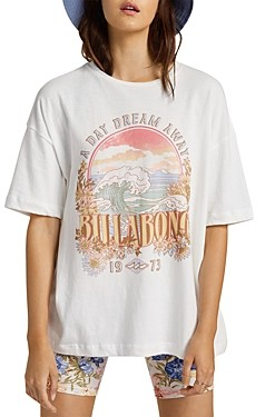 Billabong Day Dream Away Cotton Graphic Tee
