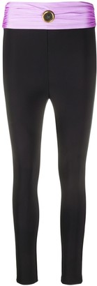 Fausto Puglisi Ruched Waist Leggings