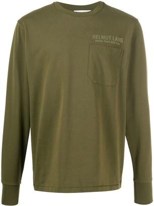 Helmut Lang long sleeved T-shirt