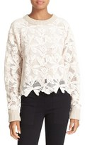 See by Chloe Women's Lace Sweater