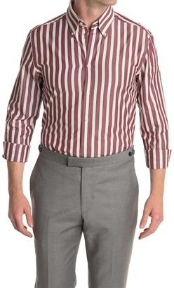 Reiss Hanna Block Stripe Regular Fit Shirt