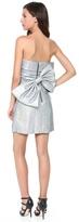 Milly Overlap Pleat Dress