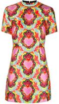 House of Holland Heart Twill flared dress - women - Polyester - 14