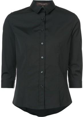 Carolina Herrera Three-Quarter Sleeve Classic Shirt
