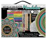 Bendon Adult Coloring Book Kit - Mandalas