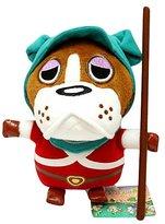 "Nintendo Official Animal Crossing Plush Toy - 7"" Bulldog / Officer B (Japanese Import)"