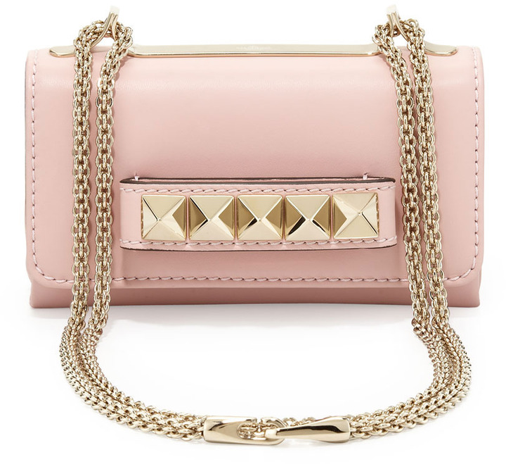 Valentino Va Va Voom Mini Bag, Light Pink