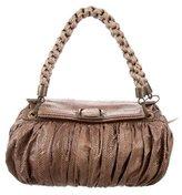 R & Y Augousti R&Y Augousti Python Shoulder Bag