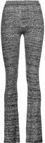 Sandro Pinup ribbed wool-blend bootcut pants