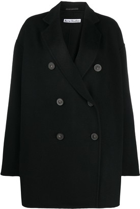 Acne Studios Double Breasted Wool Coat