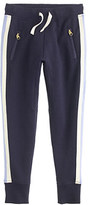 J.Crew Girls' skinny zip sweatpant in side stripe