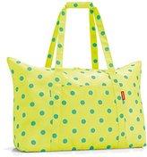 Reisenthel Travel Bag, Polyester, 41 x 26 x 65 cm, Polyester, lemon dots, 41 x 26 x 65 cm