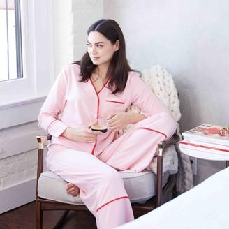 Summersalt The Cloud 9 Pajama Set - Pink Sand & Lava