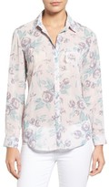 KUT from the Kloth Women's Esperanza Button Back Floral Blouse