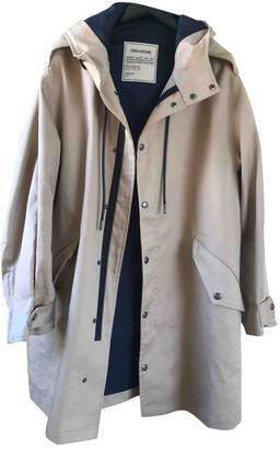 Zadig & Voltaire Spring Summer 2019 Beige Cotton Coat for Women