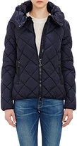Moncler Women's Quilted Bourg Puffer Jacket-NAVY
