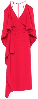 Roland Mouret Vincent crApe dress