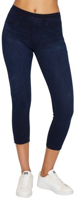 Spanx Medium Control Jeanish Cropped Leggings