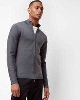 Wool Double-faced Zip Sweater