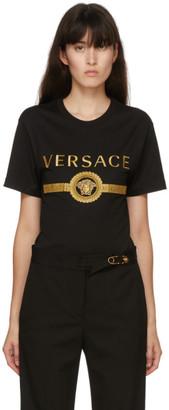 Versace Black Vintage Medusa T-Shirt