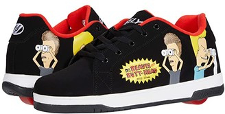 Heelys Split Beavis and Butthead (Black/Red) Boy's Shoes