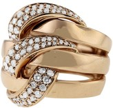 Effy Jewelry Moderna Rose Gold Diamond Ring, .99 TCW