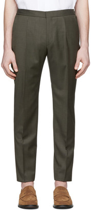 BOSS Green Wool Trousers