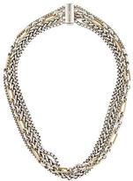 David Yurman Two-Tone Multistrand Necklace