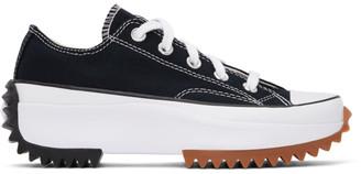 Converse Black Run Star Hike Low Sneakers