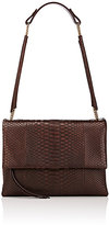 Lanvin WOMEN'S SUGAR PYTHON MEDIUM SHOULDER BAG