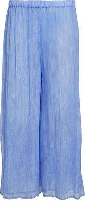 Skin Sarit Cropped Tie-Dye Chiffon Pants