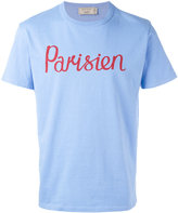 MAISON KITSUNÉ 'Parisien' T-shirt - men - Cotton - L