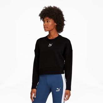 Puma Classics Women's Cropped Crewneck Sweatshirt