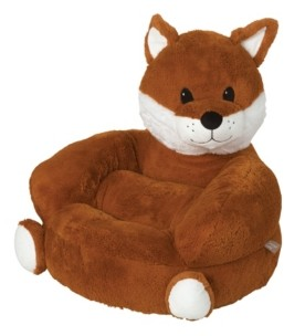Trend Lab Children's Plush Fox Character Chair Bedding